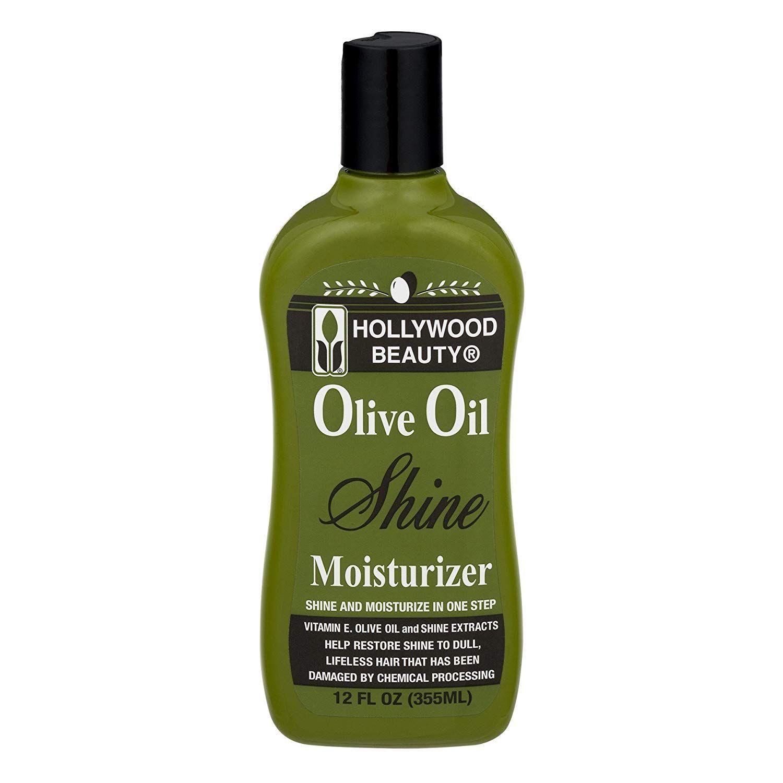 Hollywood Beauty Olive Oil Shine Moisturizer - 12oz