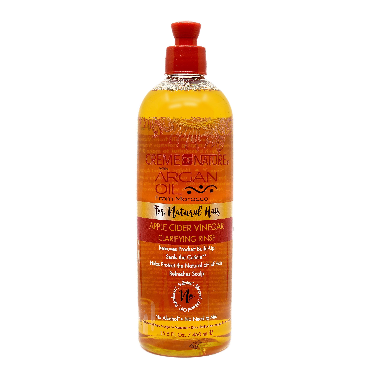Creme Of Nature Apple Cider Vinegar Clarifying Rinse - 15.5oz
