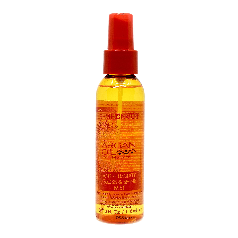 Creme Of Nature Argan Oil Anti-Humidity Gloss & Shine Mist - 4oz