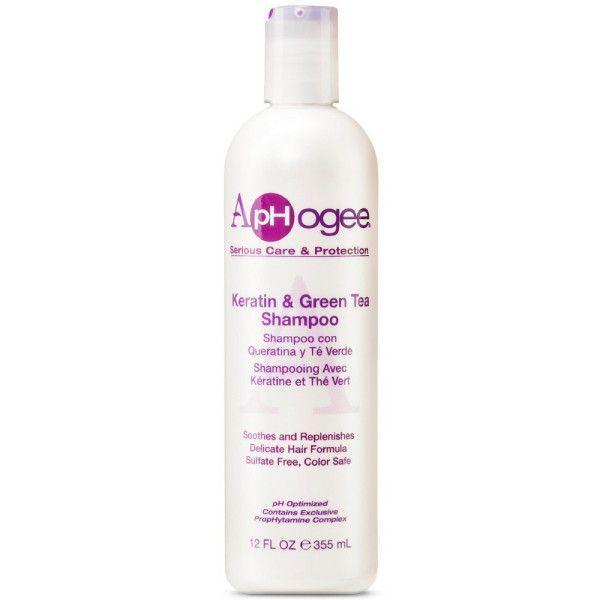 ApHogee Keratin & Green Tea Shampoo - 12oz