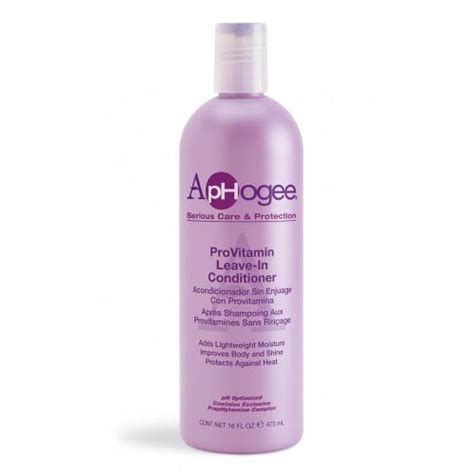 Aphogee Pro-vitamin Leave-in Conditioner - 8oz