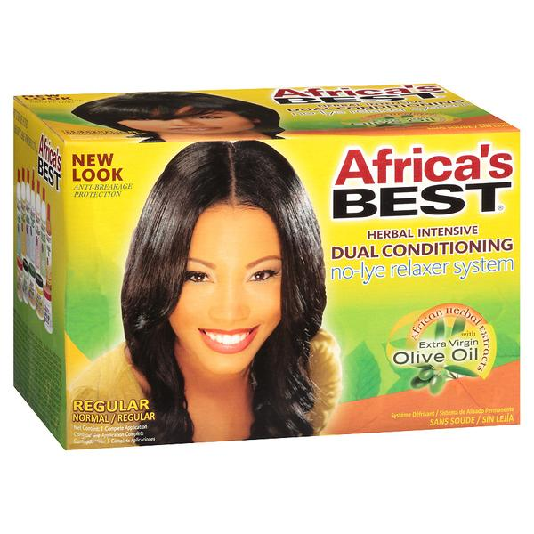 Africa's Best Dual Conditioning No Lye Relaxer System - Regular
