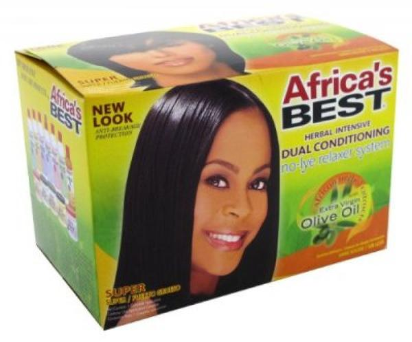 Africa's Best Dual Conditioning No Lye Relaxer System - Super