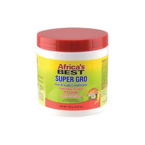 Africa's Best Super Gro Hair & Scalp Conditioner 5.25oz