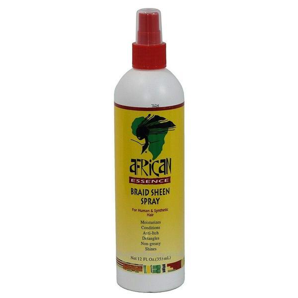 African Essence Braid Sheen Spray - 12oz