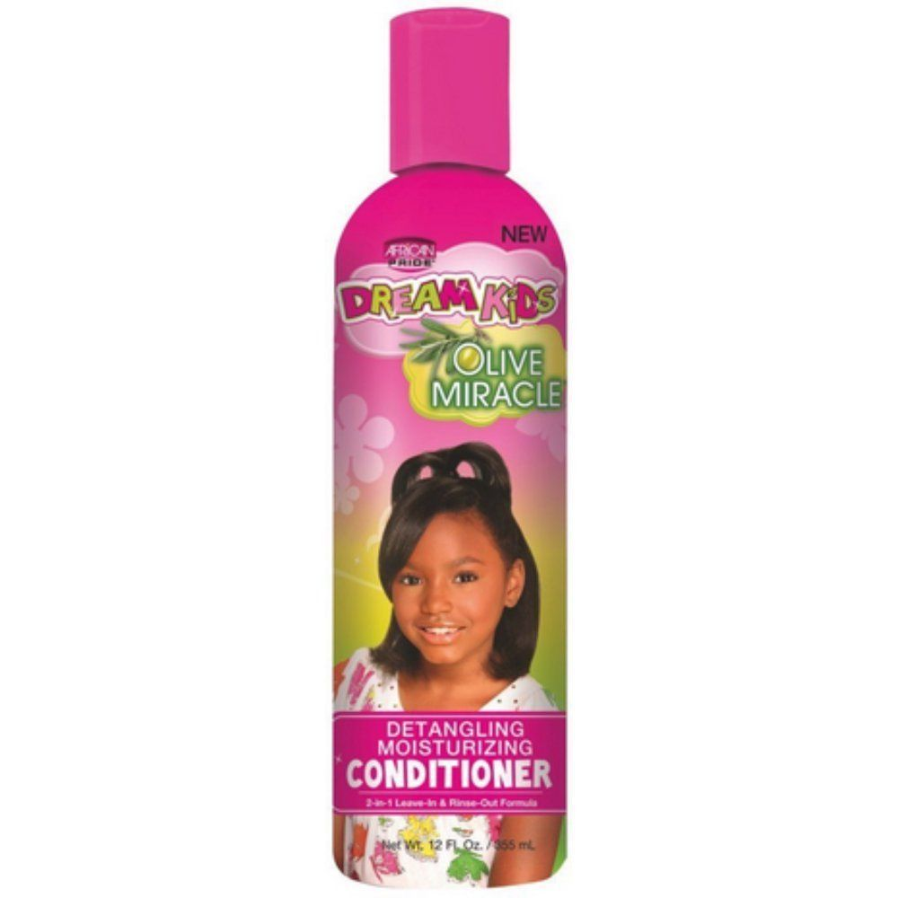 African Pride Dream Kids Olive Miracle Detangling Moisturizing Conditioner - 355ml