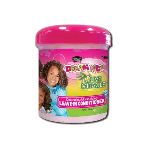 African Pride Dream Kids Olive Miracle Detangling Moisturizing Leave-in Conditioner - 425g