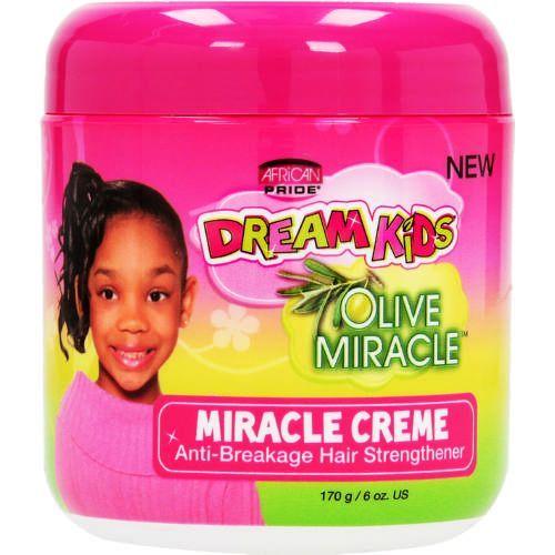African Pride Dream Kids Olive Miracle Crème - 170g