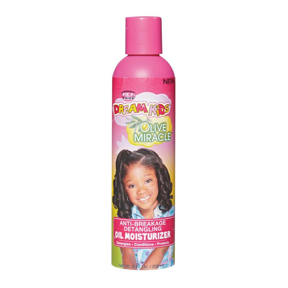 African Pride Dream Kids Olive Miracle Anti-Breakage Detangling Oil Moisturizer - 8oz