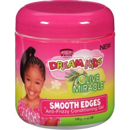 African Pride Dream Kids Olive Miracle Smooth Edges Anti-frizzy Conditioning Gel - 170g