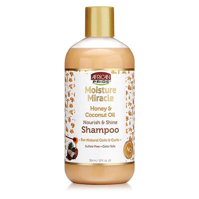 African Pride Moisture Miracle Honey & Coconut Oil Shampoo - 354ml
