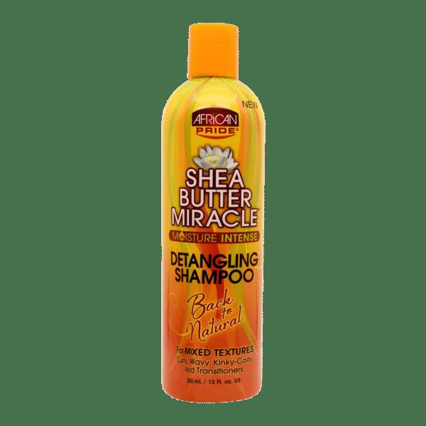 African Pride Shea Miracle Detangling Shampoo 355ml