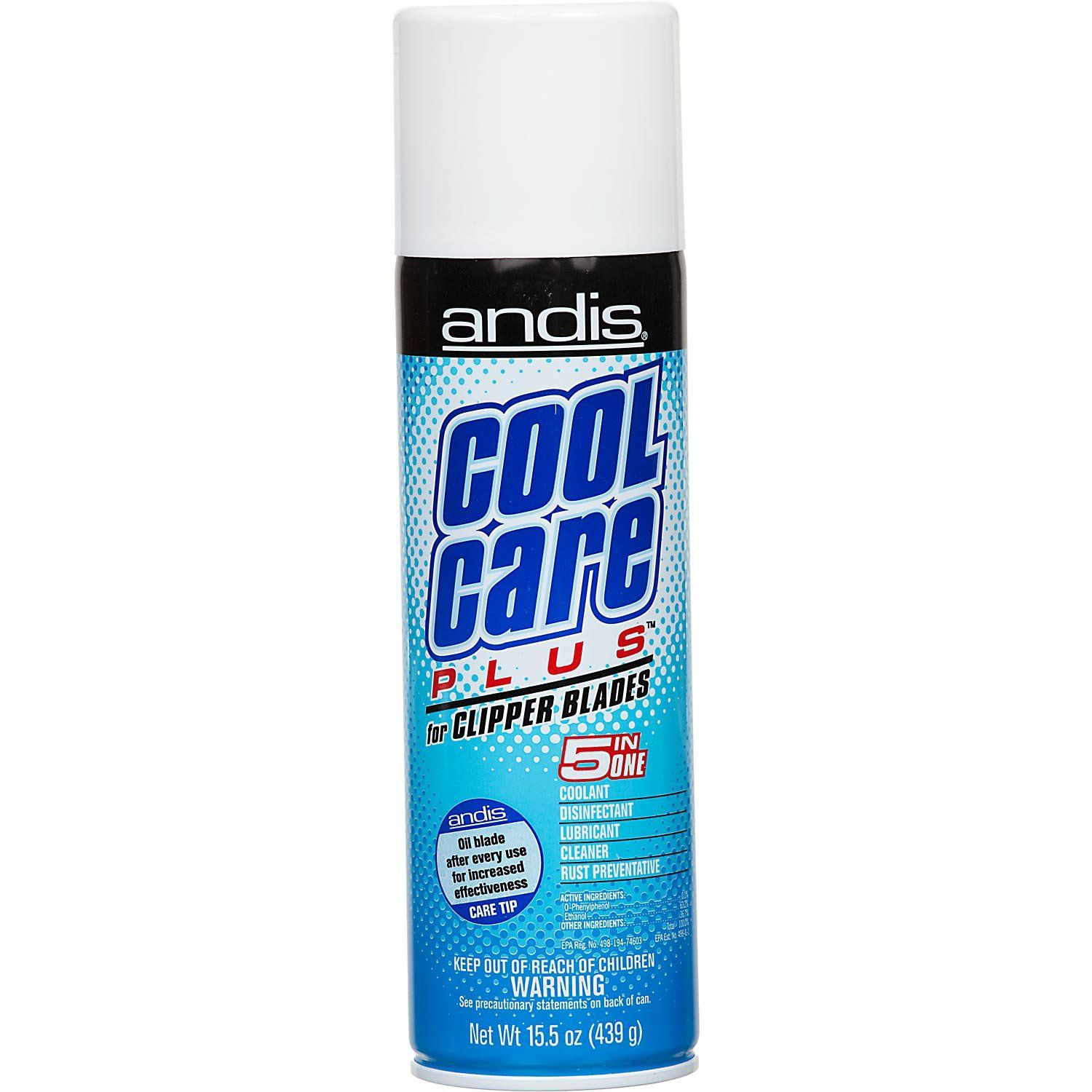Andis Cool Care Plus 5 In 1 Spray - 15.5oz