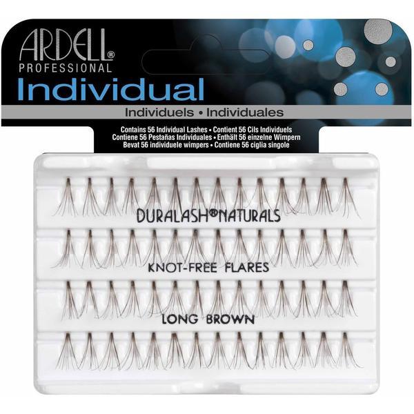 Ardell Individual Duralash Natural Knot-Free Long Brown Flares