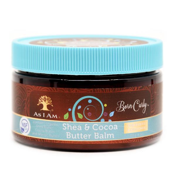 As I Am Born Curly Shea & Cocoa Butter Balm - 4oz