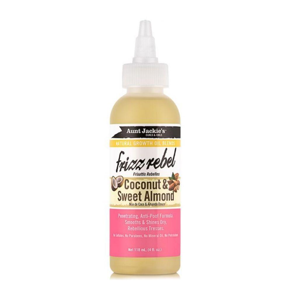 Aunt Jackie's Frizz Rebel – Coconut & Sweet Almond oil - 118ml