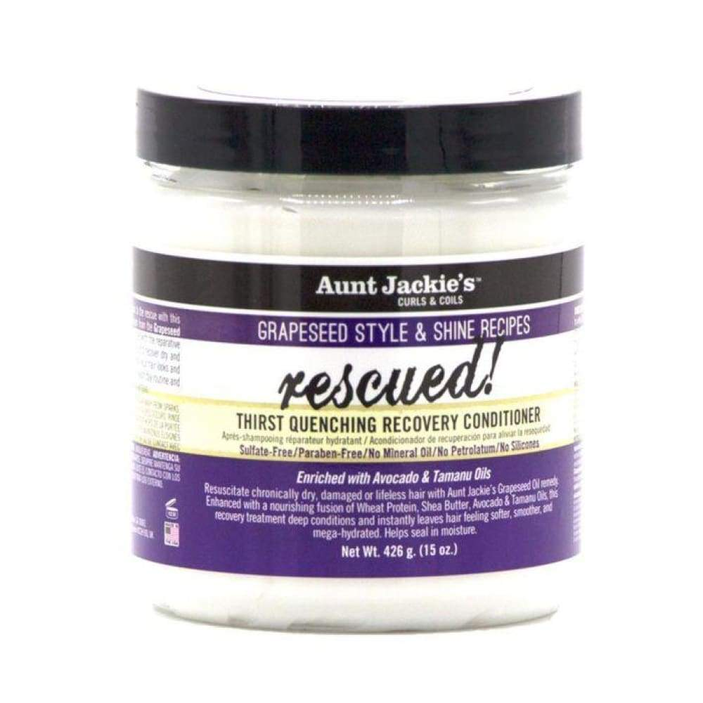 Aunt Jackie's Grapeseed Rescued Thirst Quenching Recovery Conditioner - 15oz