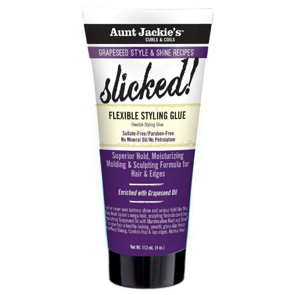 Aunt Jackie's Grapeseed Slicked Flexible Styling Glue - 4oz