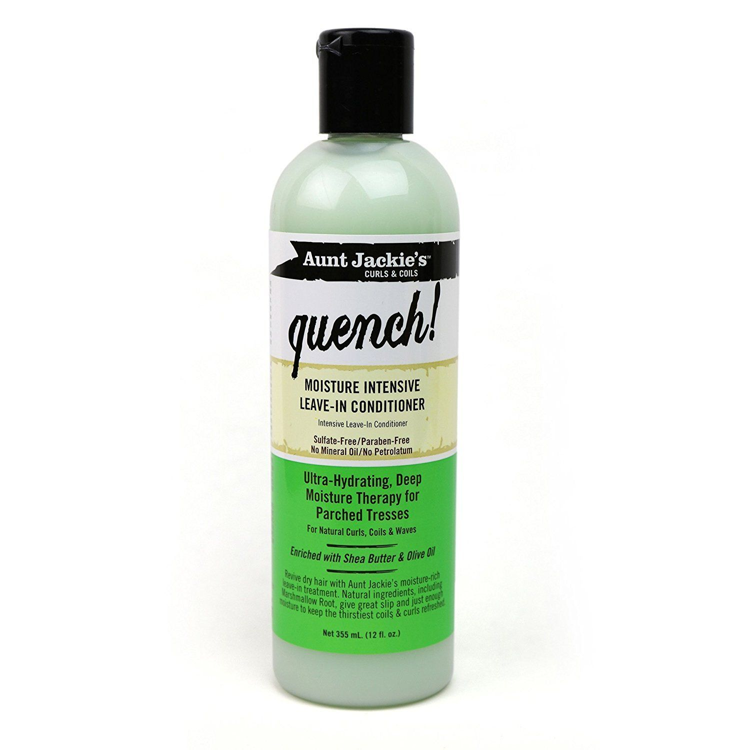 Aunt Jackie's Quench Moisture Intensive Leave-in Conditioner - 12oz