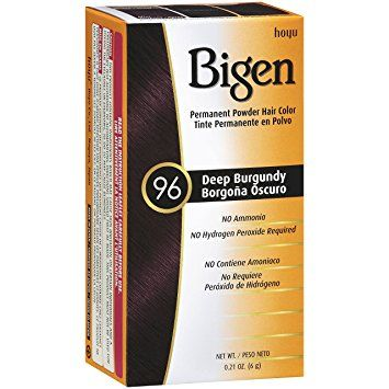 Bigen Permanent Powder Hair Colour - Deep Burgundy