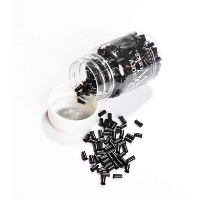 Beauty Works Copper Micro Rings - Black,100