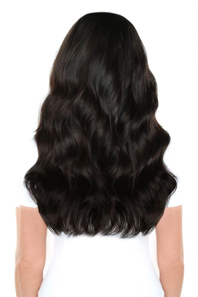 """Beauty Works Double Hair Set Clip-In Extensions - Bohemian Blonde,18"""""""