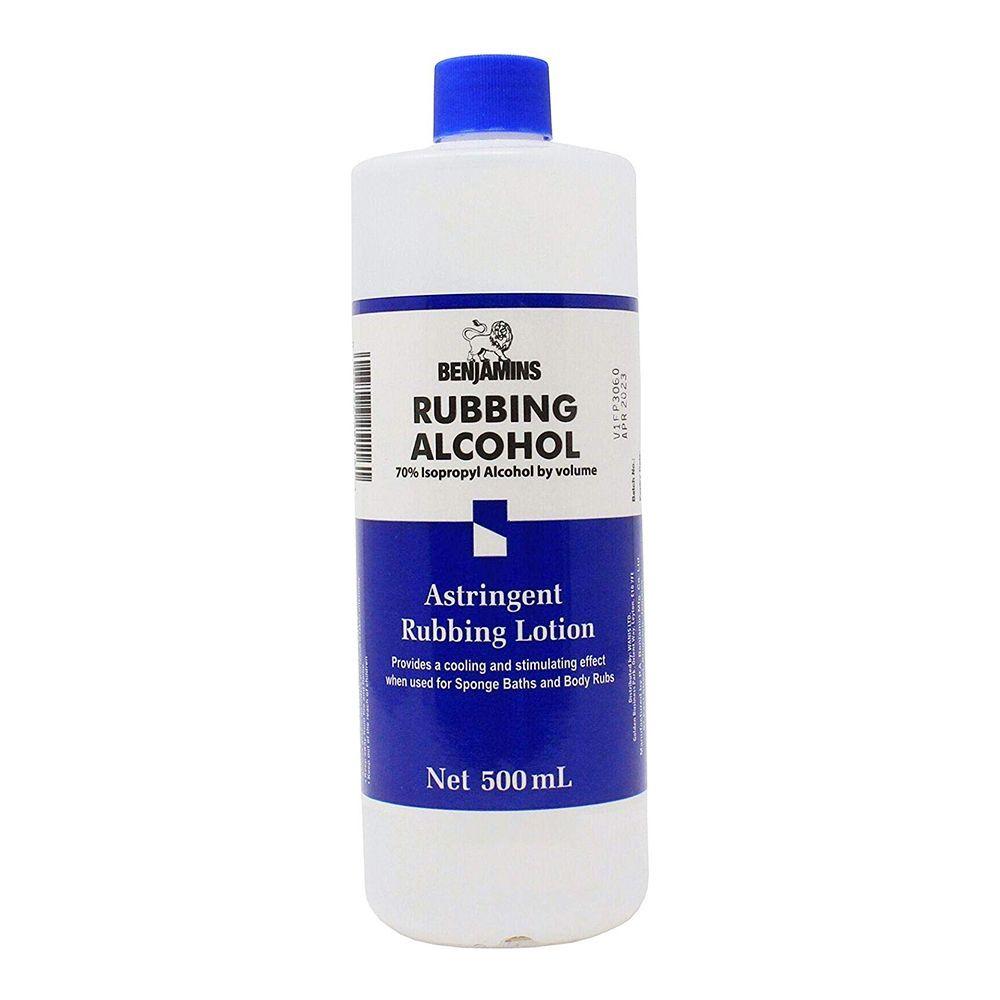 Benjamins Rubbing Alcohol - 500ml