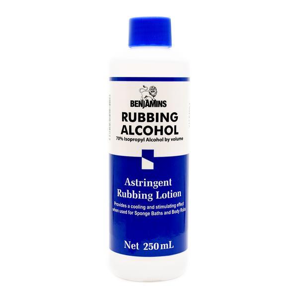 Benjamins Rubbing Alcohol - 250ml