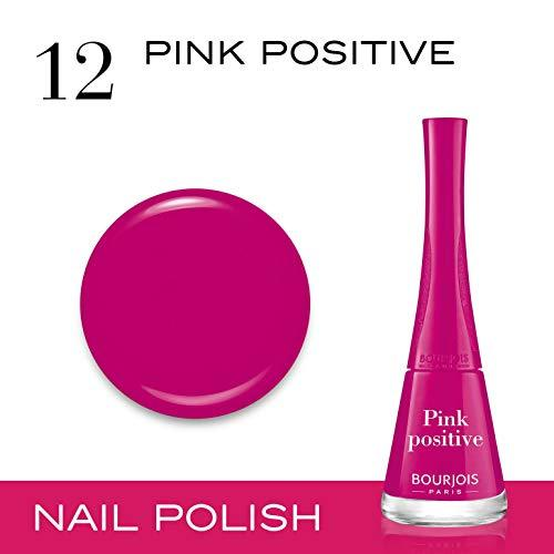 Bourjois 1 Seconde Nail Enamel Relaunch Collection 9ml - 12 Pink Positive