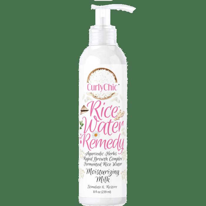 CurlyChic Rice Water Remedy Moisturizing Hair Milk - 8oz