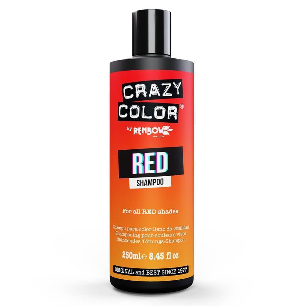 Crazy Color Rainbow Red Shampoo 250ml