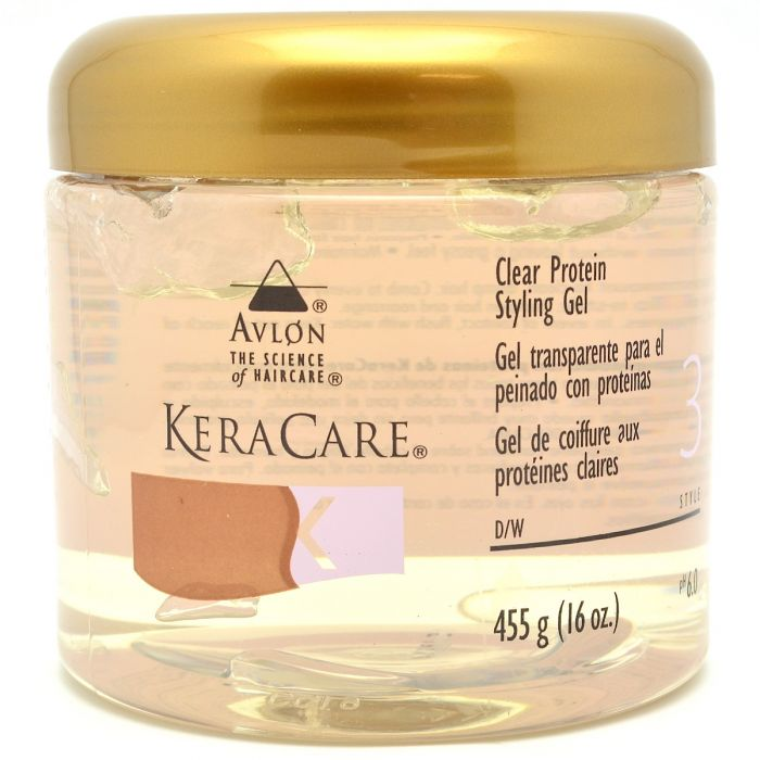 KeraCare Clear Protein Styling Gel - 16oz