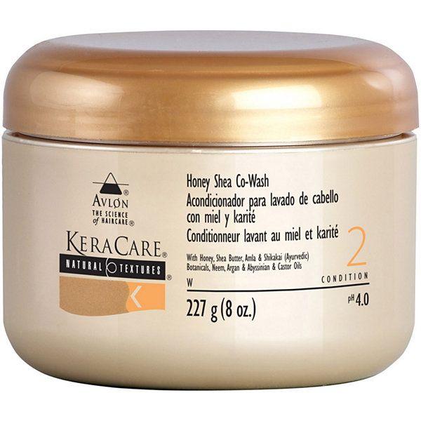KeraCare Natural Textures Honey Shea Co-Wash - 8oz