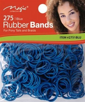 Magic Collection 275 Rubber Bands Blue - 2751
