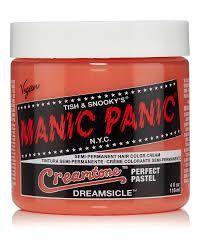 Manic Panic Creamtones Perfect Pastel Hair Colour - Dreamsicle