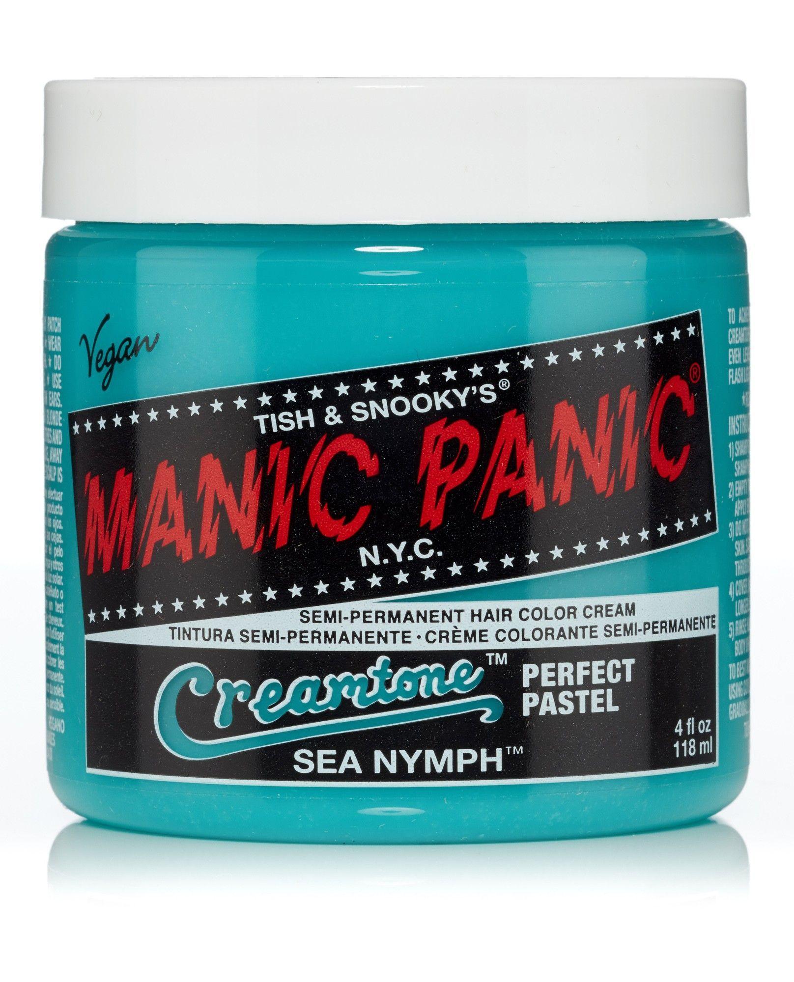 Manic Panic Creamtones Perfect Pastel Hair Colour - Sea Nymph