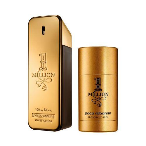 Paco Rabanne 1 Million Gift Set 100ml EDT + 75ml Deodorant Stick