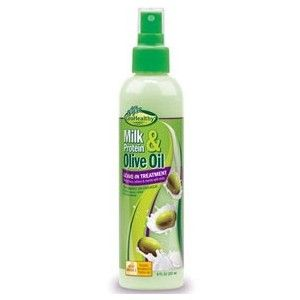 Sofn'Free GroHealthy Milk Protein & Olive Oil Leave-in Treatment - 8oz