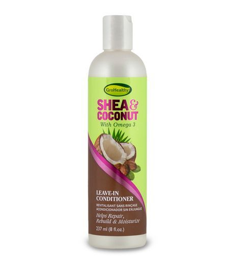Sofn'Free GroHealthy Shea & Coconut Leave-In Conditioner - 8oz