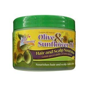 Sofn'Free N' Pretty Olive & Sunflower OiI Hair & Scalp Nourisher - 8oz