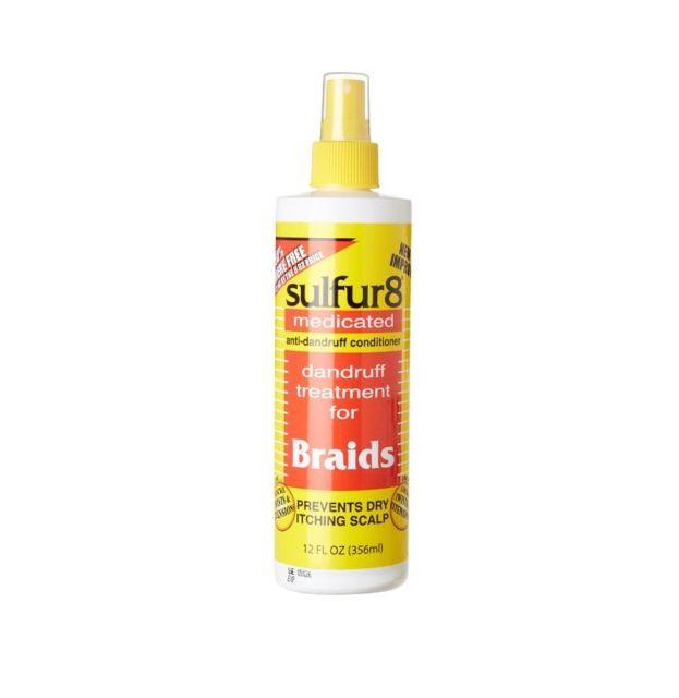 Sulfur8 Anti-Dandruff Braid Spray - 12oz