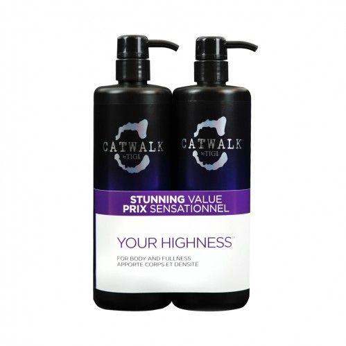 TIGI Catwalk Your Highness Shampoo & Conditioner Duo Pack - 750ml