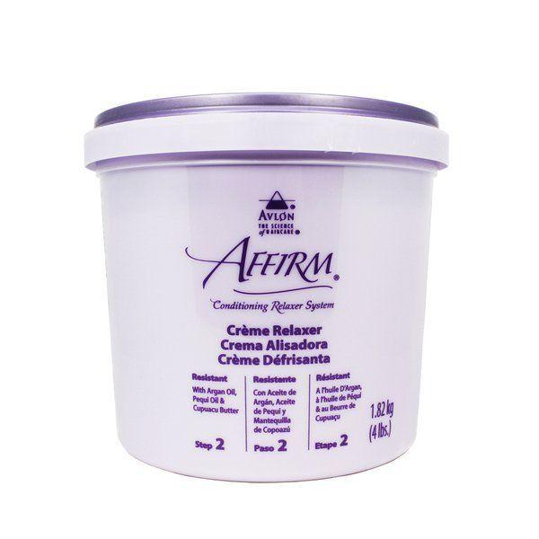 Avlon Affirm Creme Relaxer Step 2 - 4lbs,Resistant