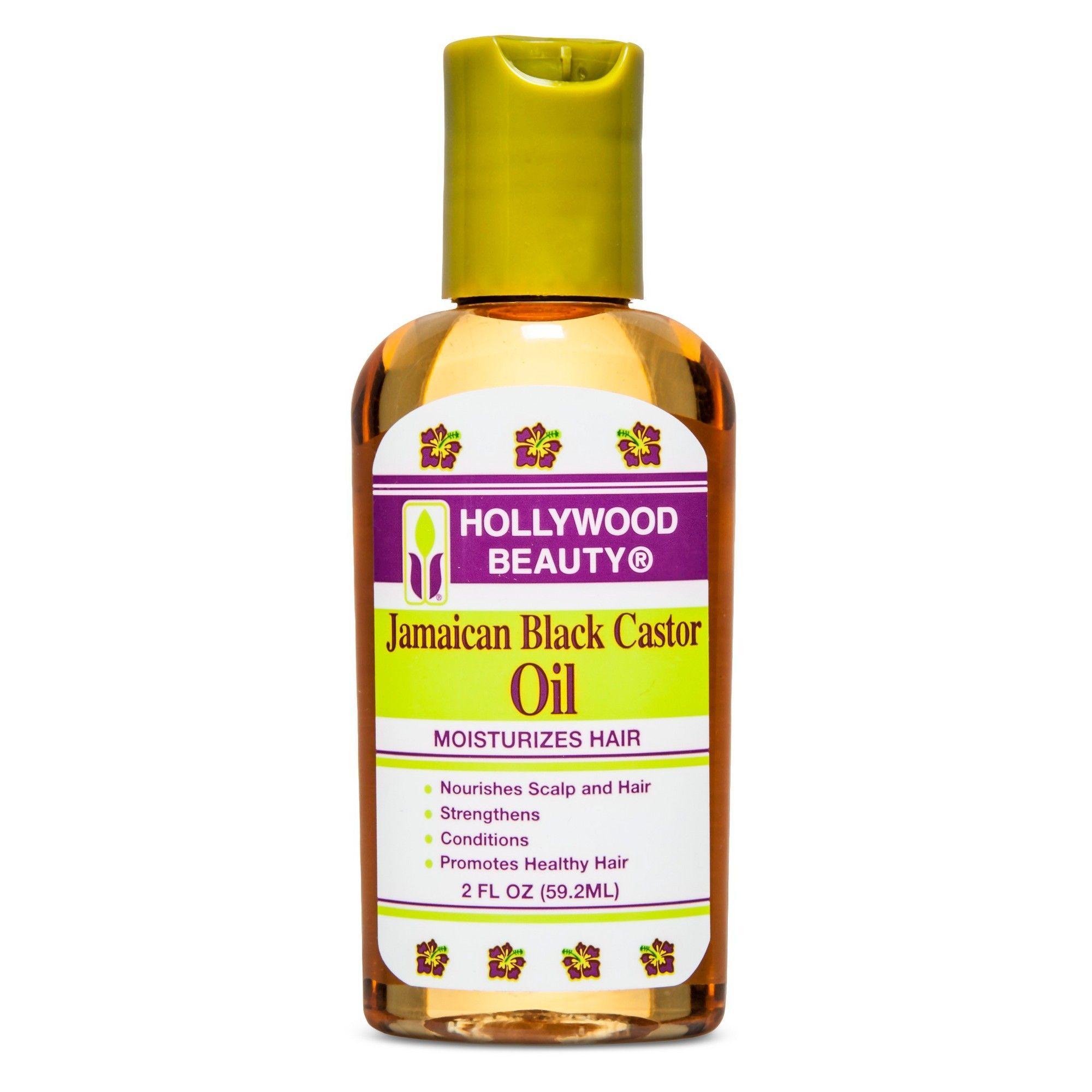 Hollywood Beauty Jamaican Black Castor Oil - 2oz