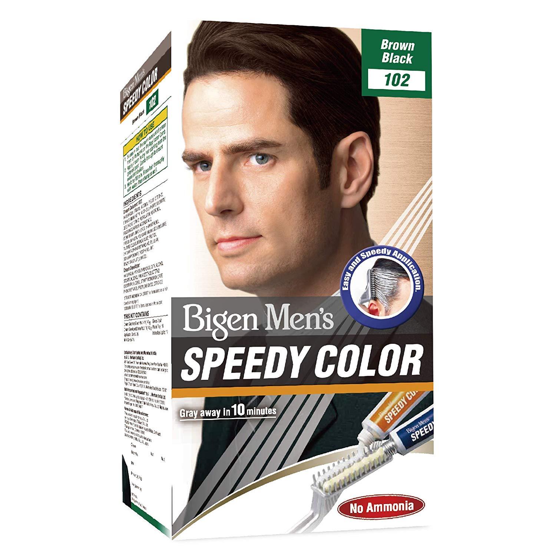 Bigen Men's Speedy Colour - Brown Black 102