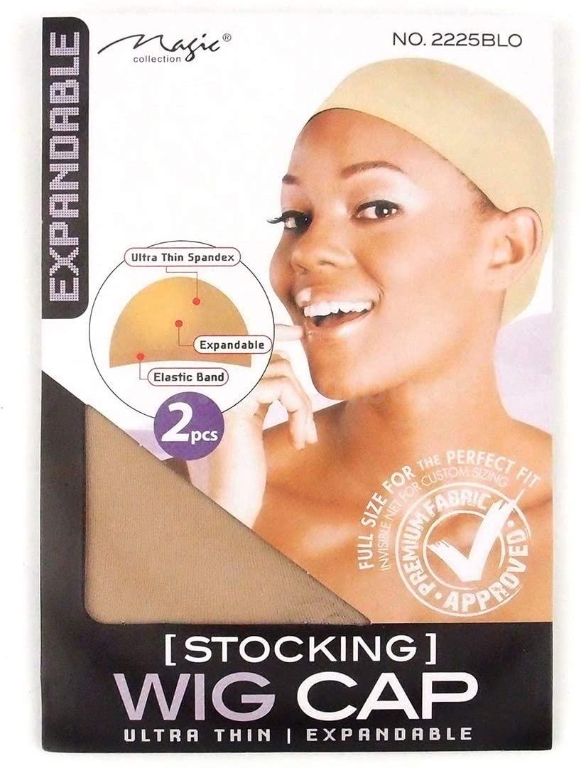 Magic Collection Women's Stocking Wig Cap Blonde - 2225Blo