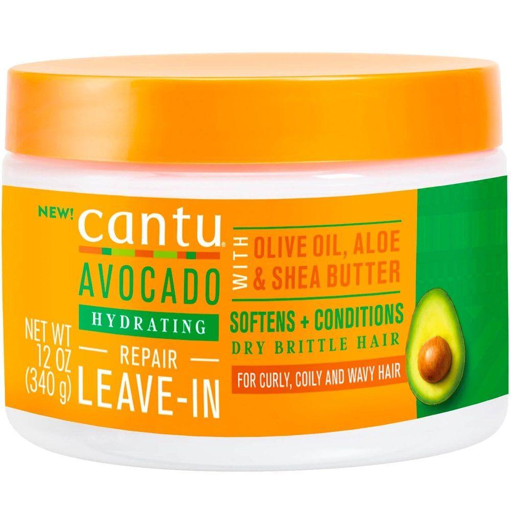 Cantu Avocado Hydrating Leave-In Repair Cream - 340g