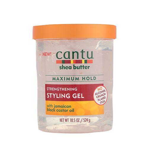Cantu Shea Butter Strengthening Styling Gel - Maximum Hold - 524g