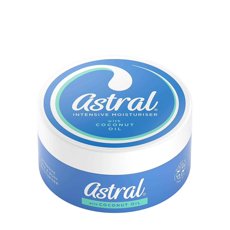 Astral Intensive Moisturiser With Coconut Oil 200ml