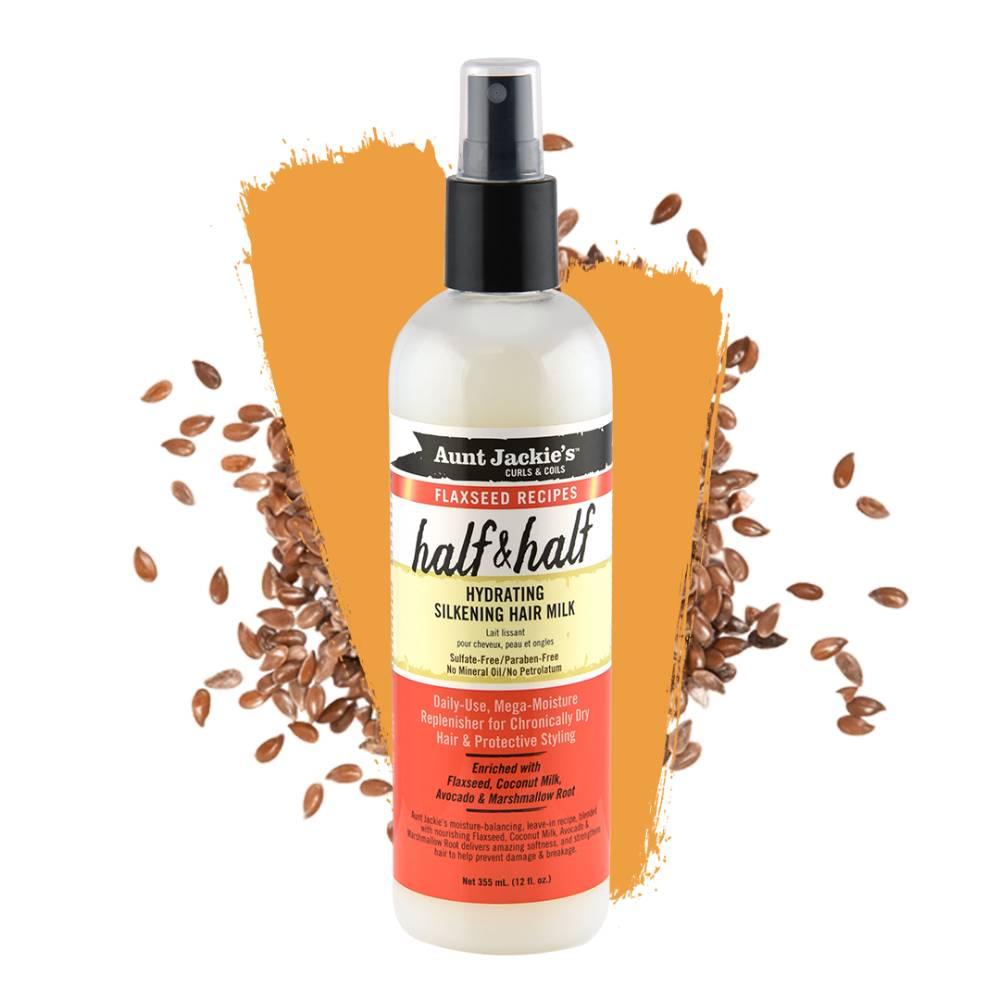 Aunt Jackie's Half & Half Hydrating Silkening Hair Milk - 12oz